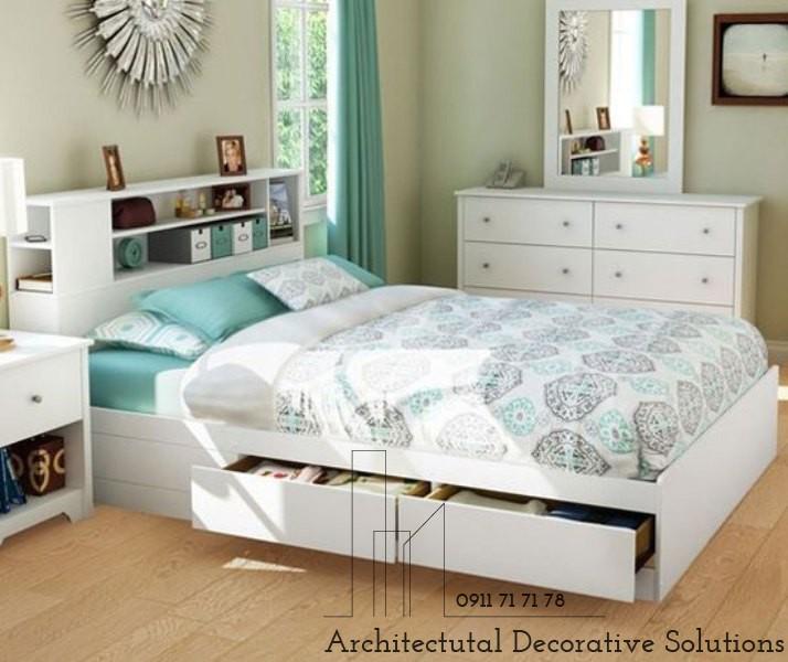 Giường Ngủ Gỗ Giá Rẻ 617T