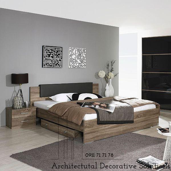 Giường Ngủ Gỗ HCM 619T