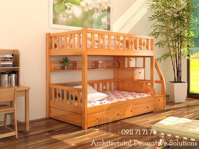 Giường Tầng Gỗ Giá Rẻ 437T