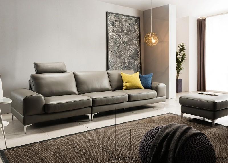 Sofa Da Cao Cấp 495S
