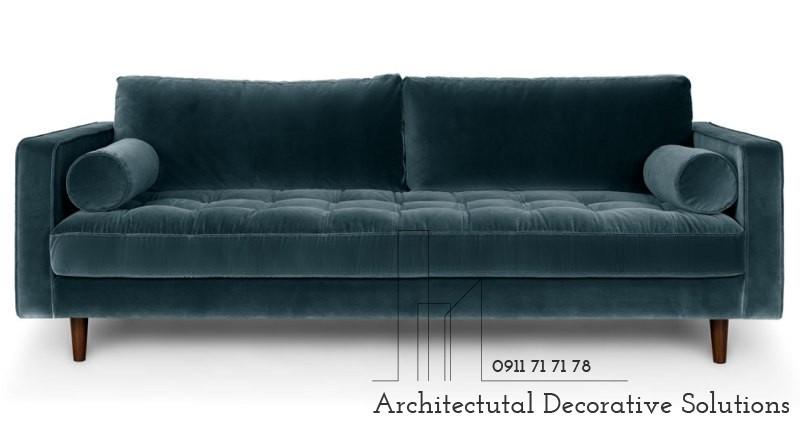Sofa 2 Chỗ Vải Nhung 344T