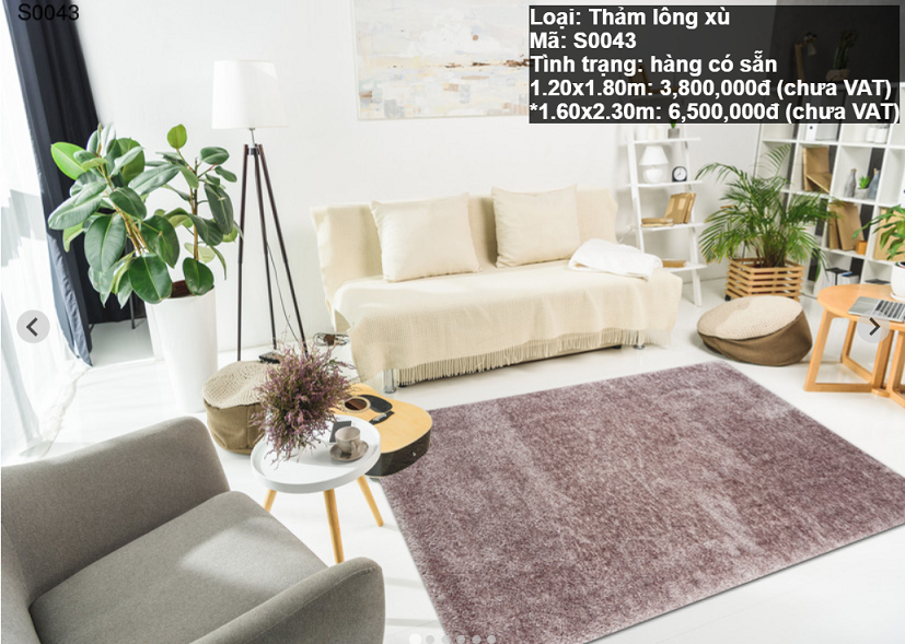 Thảm Sofa Giá Rẻ S0043