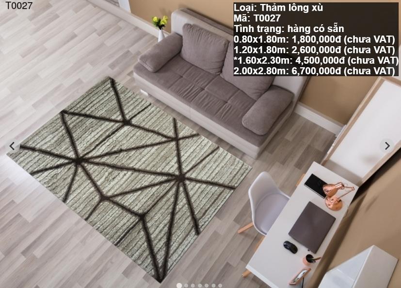 Thảm Sofa Giá Rẻ T0027
