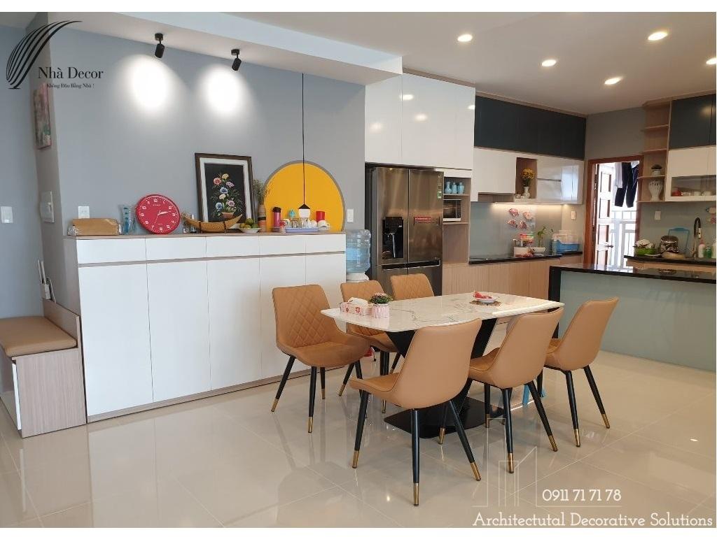 Thi công nội thất căn hộ 3 phòng ngủ chung cư Phú Hoàng Anh