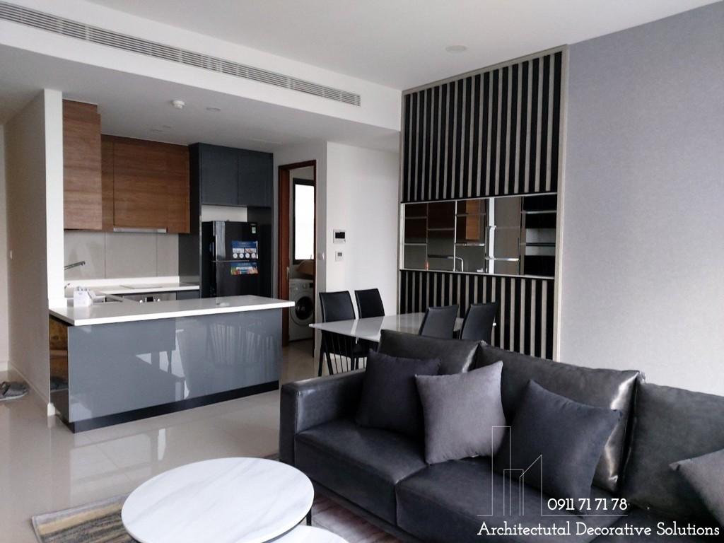 Thi công nội thất căn hộ chung cư The Nassim quận 2