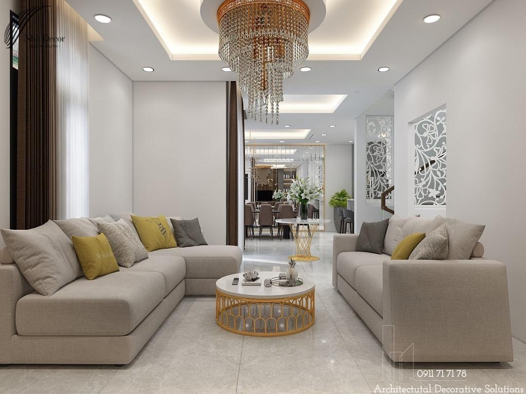 Thiết kế nội thất biệt thự Bình Dương đẹp ấn tượng