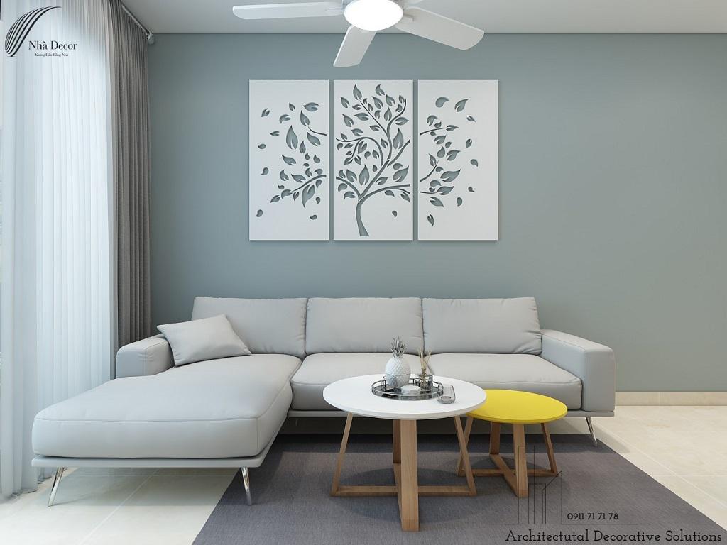 Thiết kế nội thất căn hộ 1 phòng ngủ Phú Đông Premier
