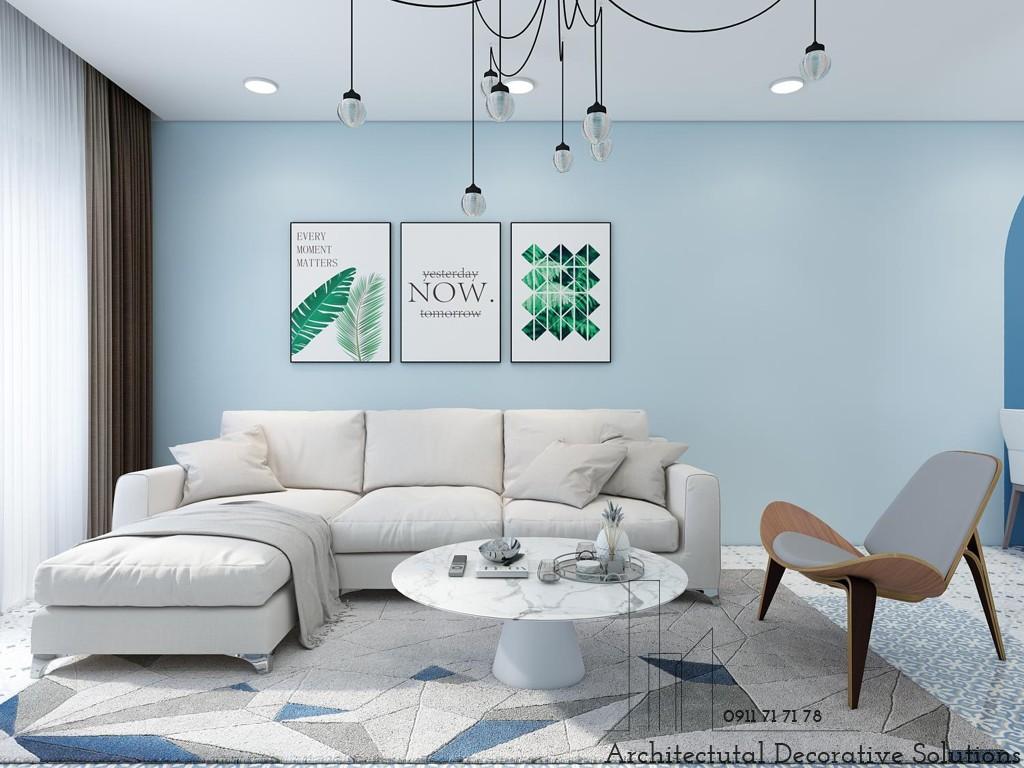 Thiết kế nội thất căn hộ 2 phòng ngủ chung cư Topaz Twin