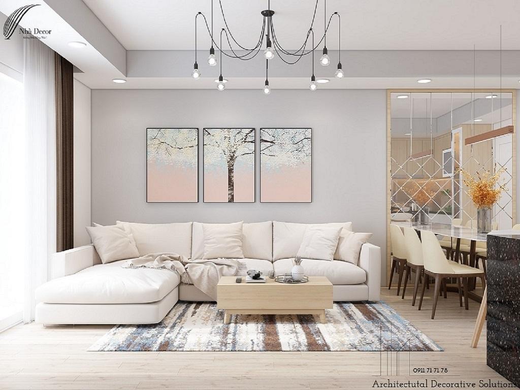 Thiết kế nội thất căn hộ Botanic 2 phòng ngủ