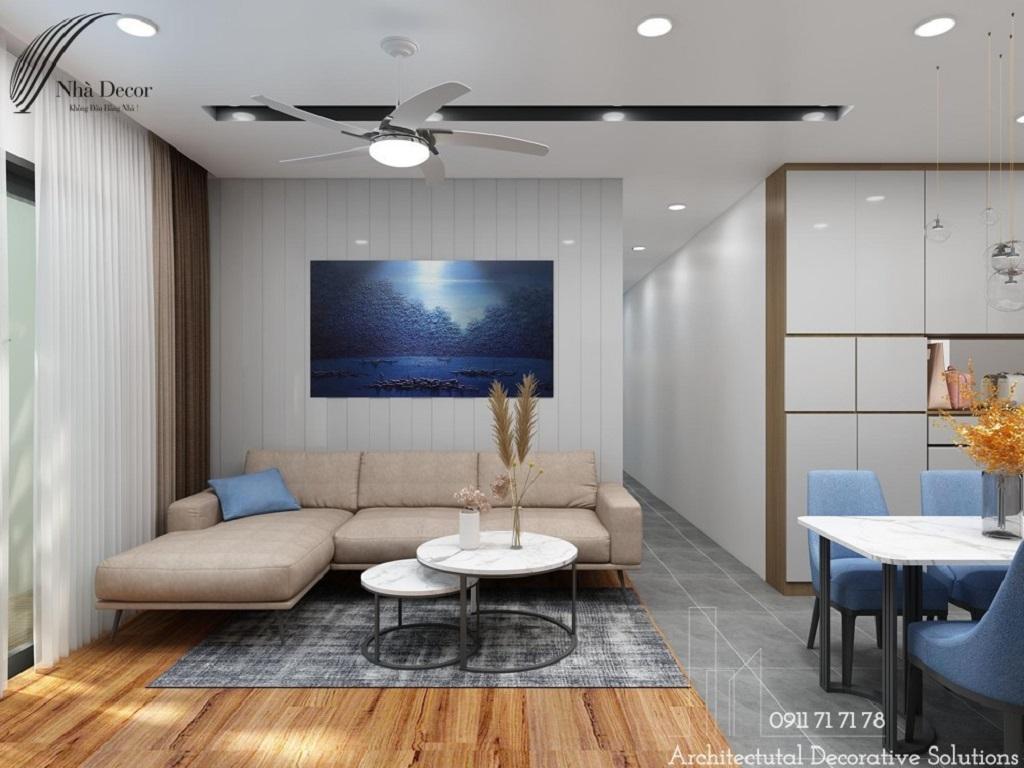 Thiết kế nội thất căn hộ chung cư Saigon South Residences