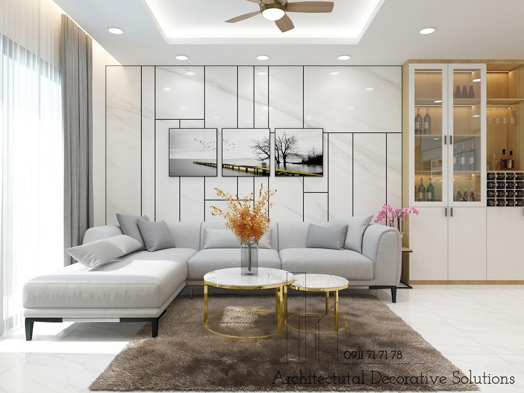 Thiết kế nội thất căn hộ Hà Đô Centrosa Garden 3 phòng ngủ