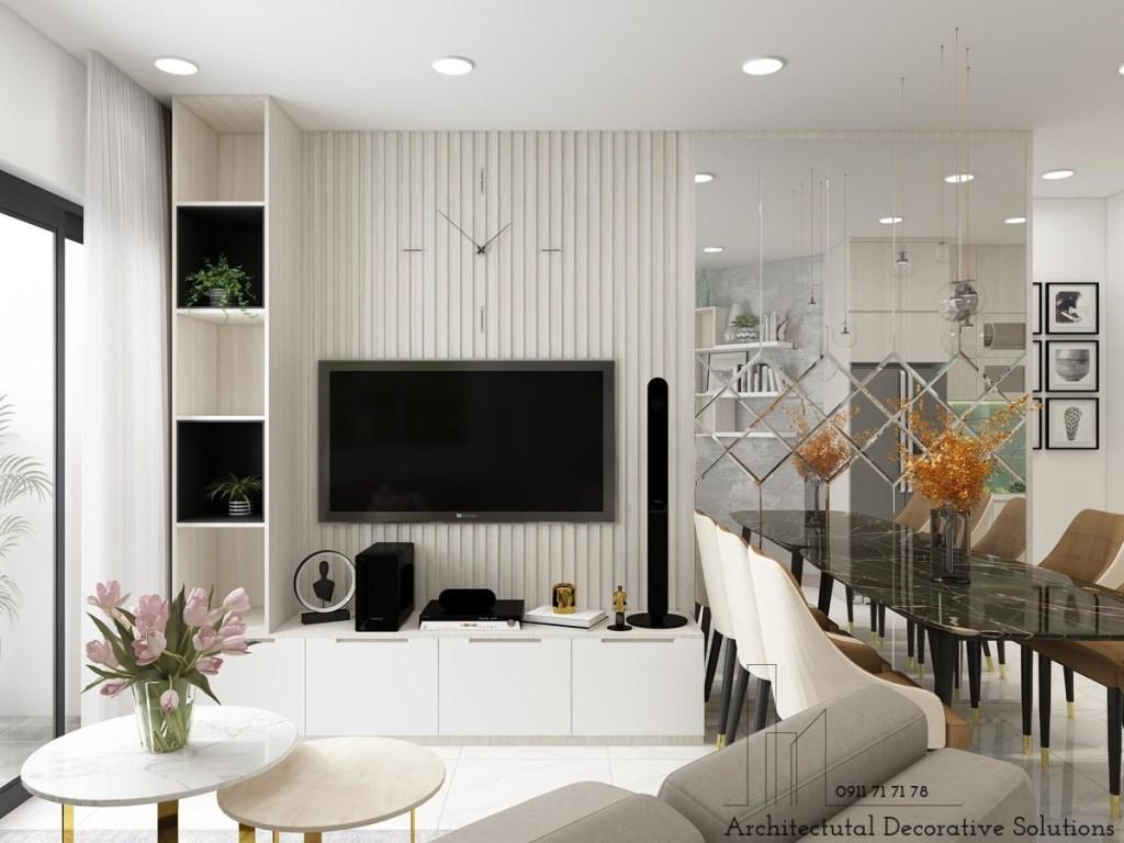 Thiết kế nội thất căn hộ Safira Khang Điền 2 phòng ngủ