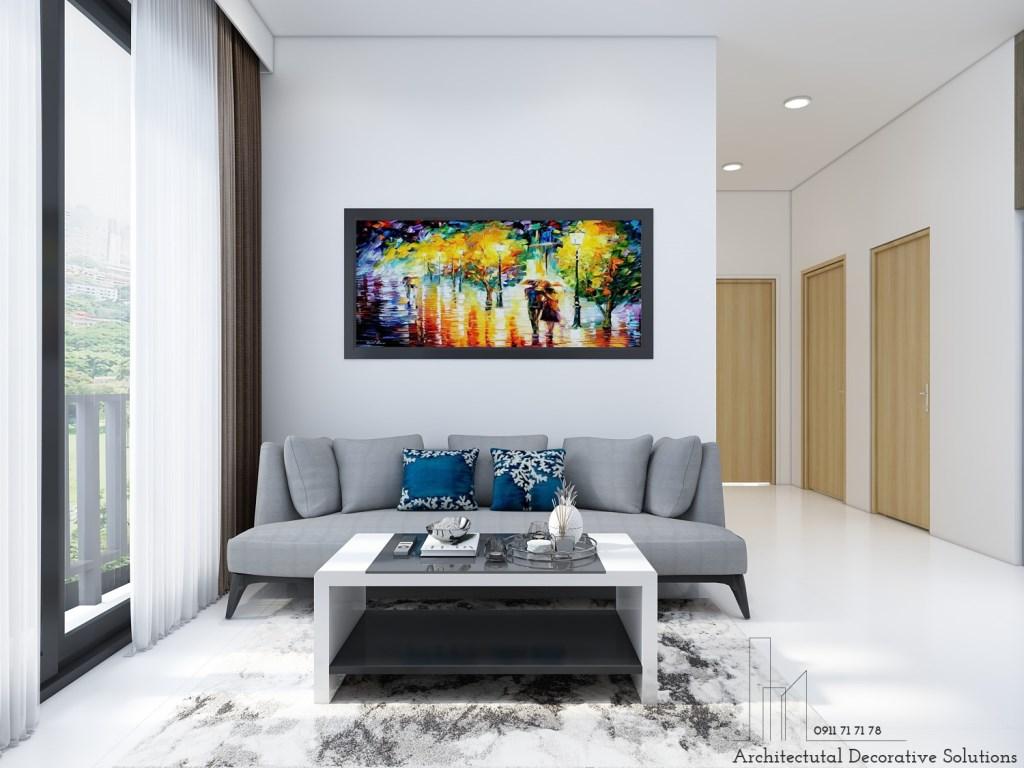 Thiết kế nội thất căn hộ 2 phòng ngủ chung cư Vinhomes Grand Park