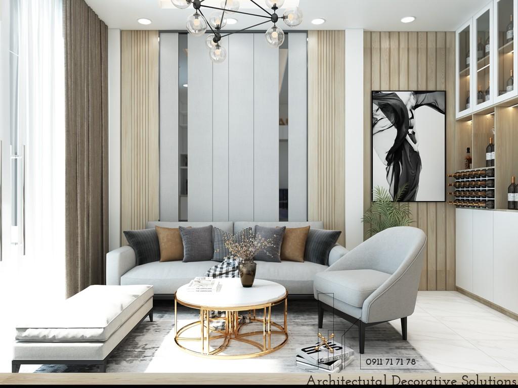 Thiết kế nội thất nhà phố Bình Dương 4 phòng ngủ