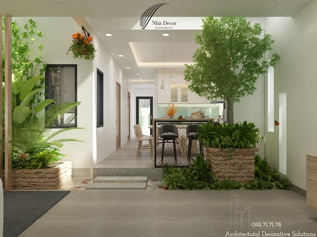 Thiết kế nội thất nhà phố Long Thành - Đồng Nai