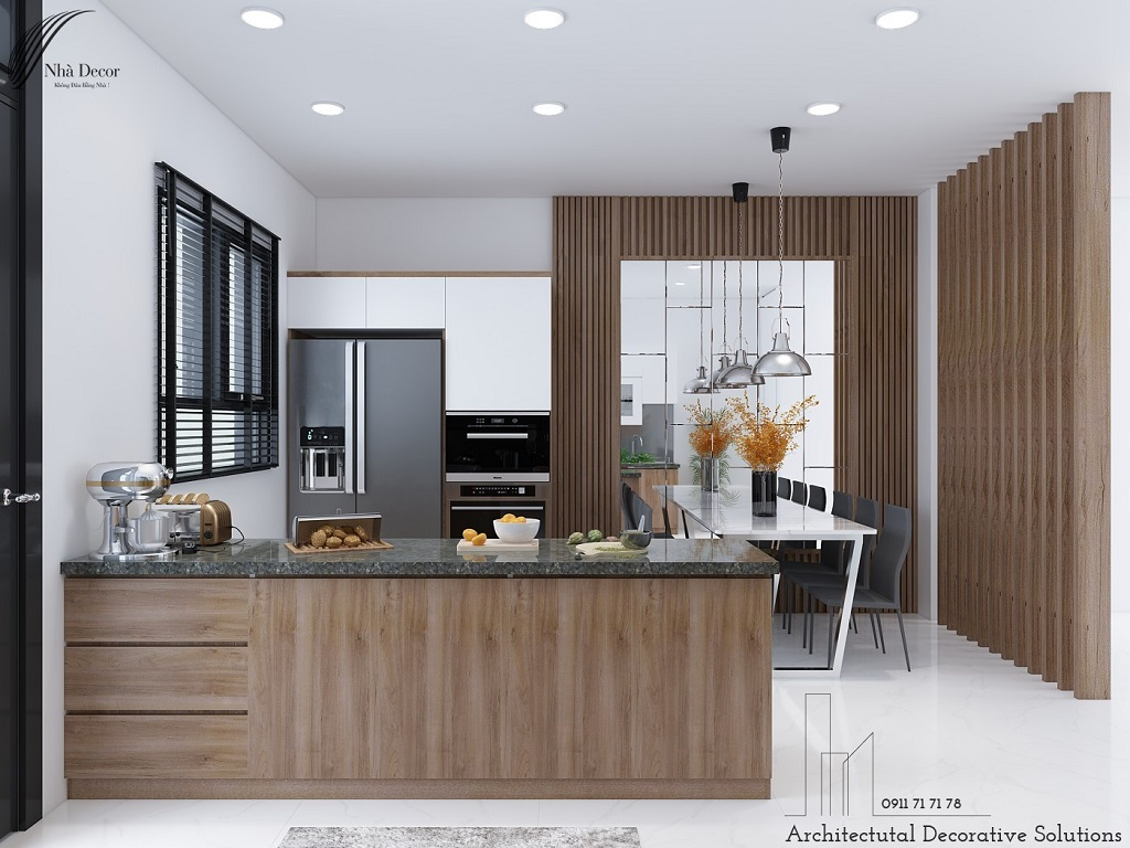 Thiết kế nội thất nhà phố Thủ Đức