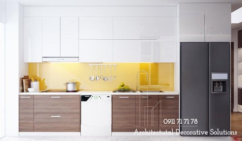 Tủ Bếp Gỗ Giá Rẻ 305T