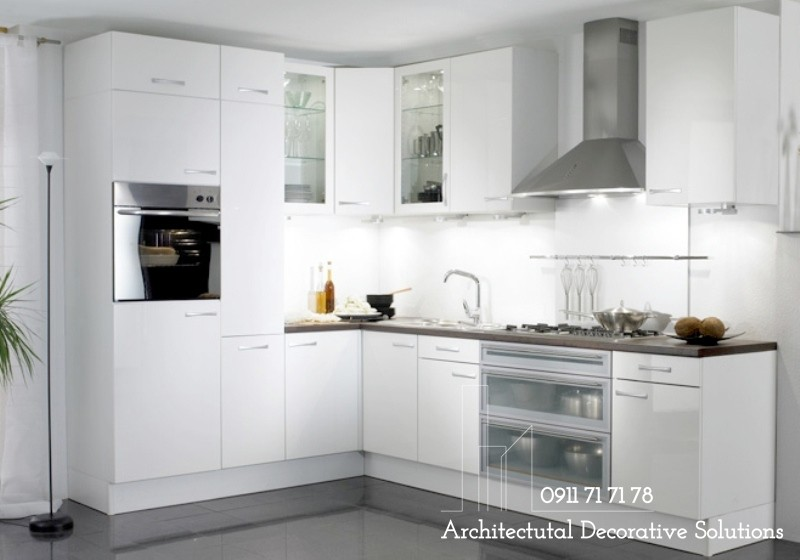 Tủ Bếp Gỗ HDF Giá Rẻ 316T