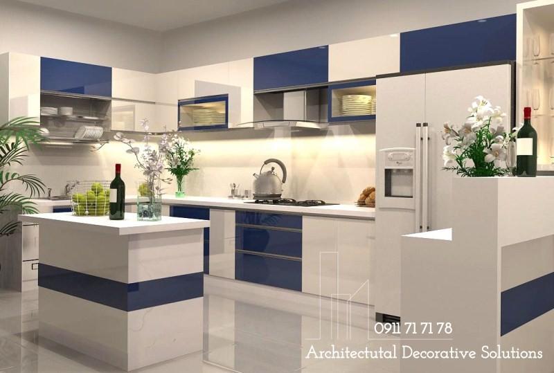 Tủ Kệ Bếp Gỗ Giá Rẻ 359T