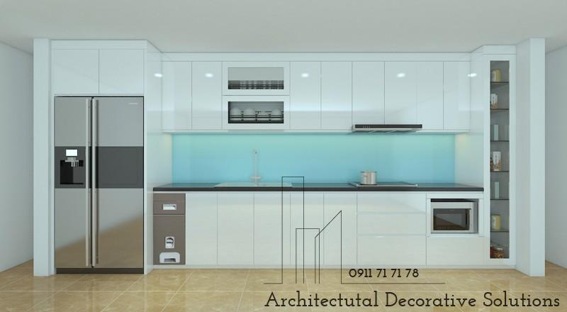 Tủ Bếp Acrylic Đẹp HCM 909T