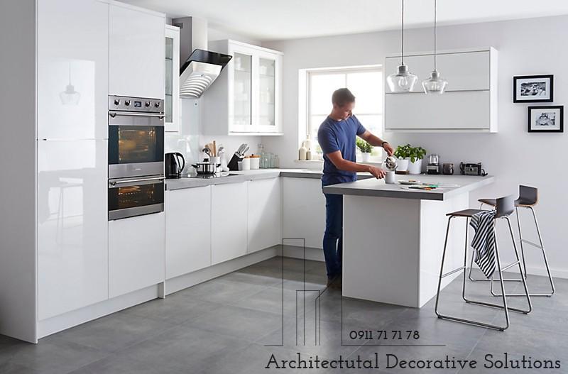 Tủ Bếp Acrylic Đẹp Hiện Đại 999T