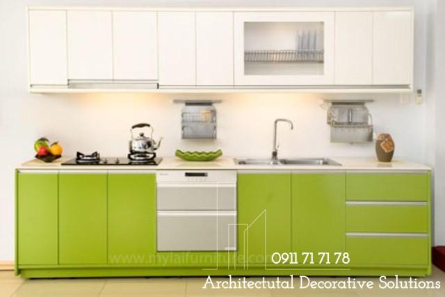 Tủ Bếp Gỗ Giá Rẻ 285T