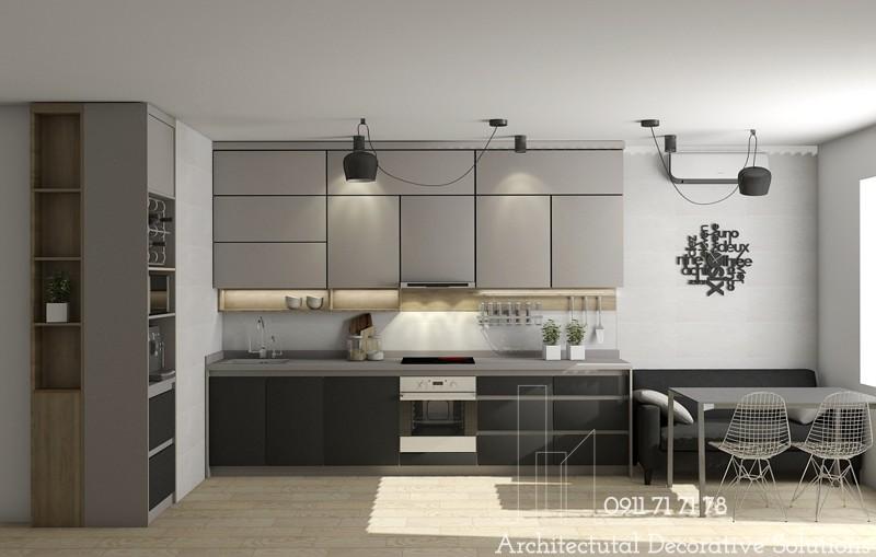 Tủ Bếp Gỗ Đẹp 1006T