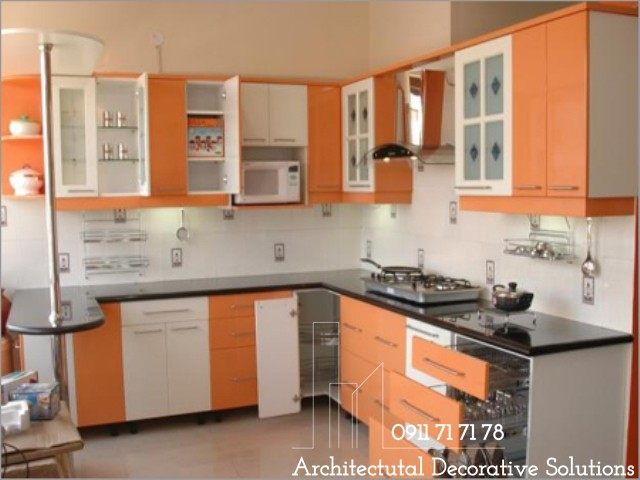 Tủ Bếp Gỗ Giá Rẻ 212T