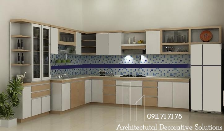 Tủ Bếp Gỗ HDF 220T