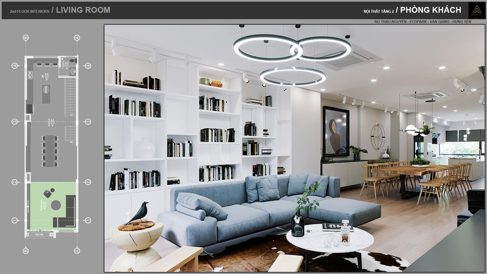 Thiết kế nội thất đẹp mắt