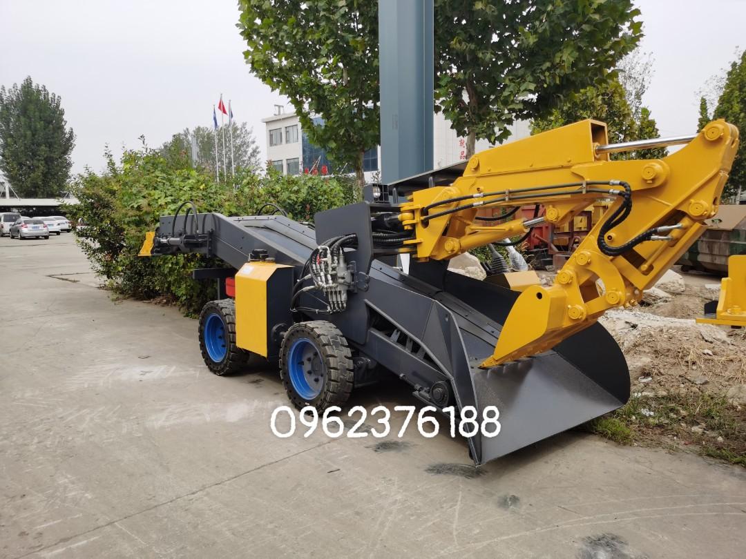 Máy cào vơ bánh lốp 60m3/h XIANDAI STB-60