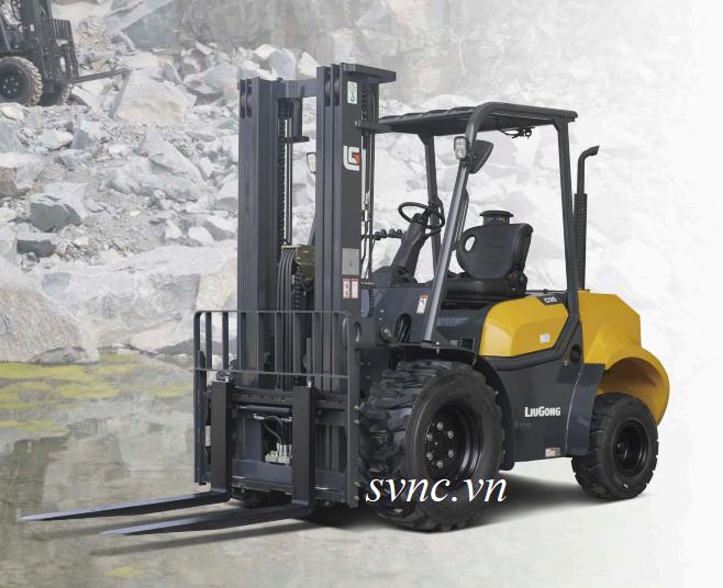 Xe nâng địa hình 3-3.5 tấn Liugong