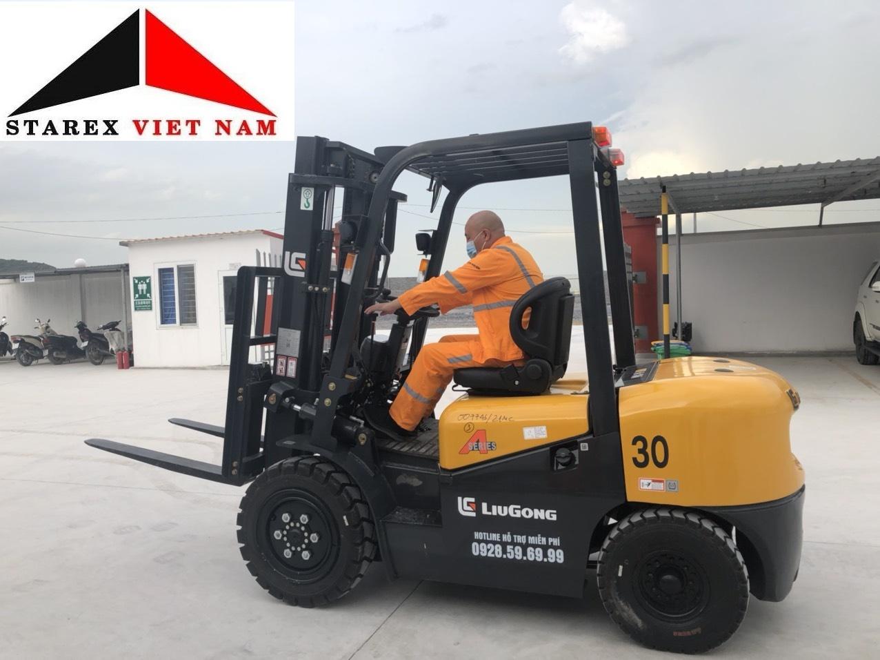 Xe nâng Liugong 3 tấn CPCD30
