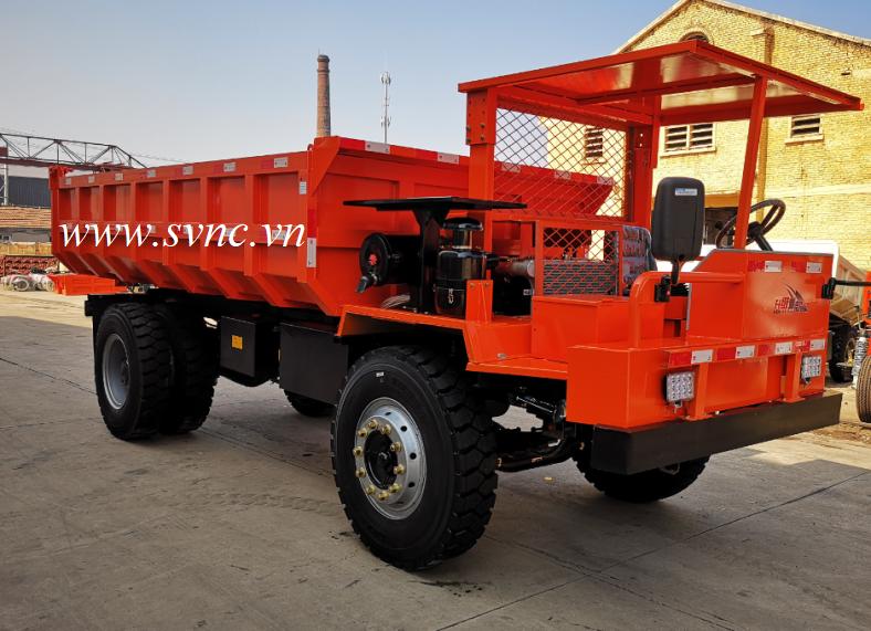 Xe tải chui hầm 6 tấn XIANDAI XDYS-6