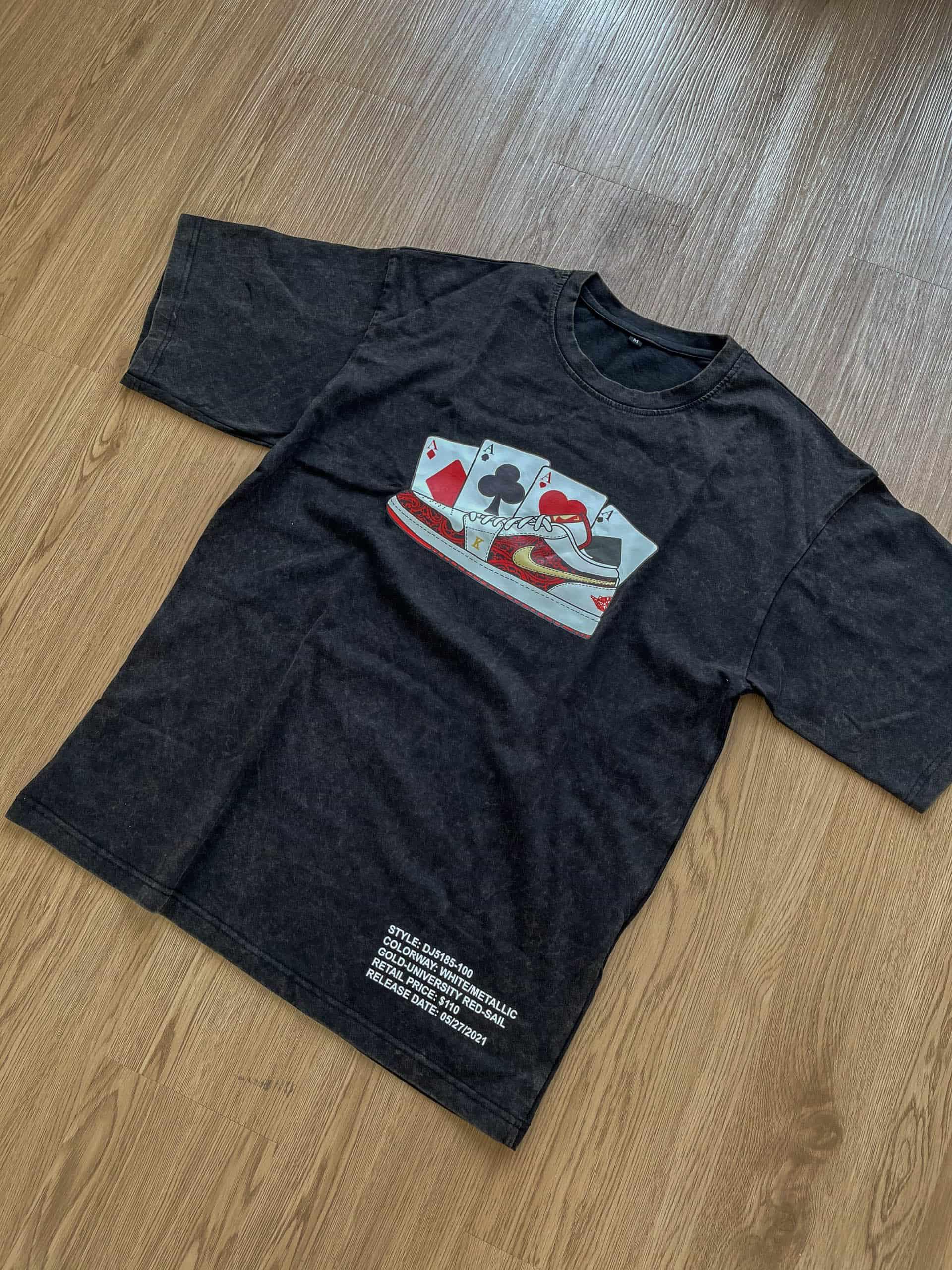 T-Shirt Stone Wash