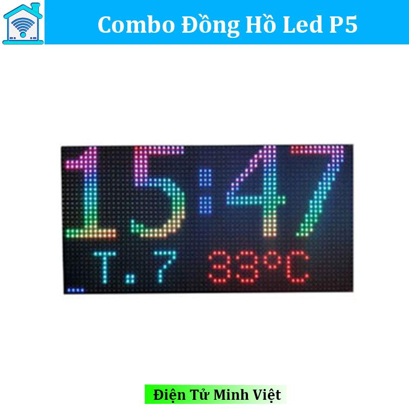 combo-dong-ho-led-ma-tran-p5-dong-ho-treo-tuong