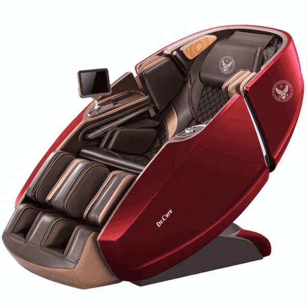 Ghế massage Phi Thuyền Vũ Trụ SS 919X – Màu Đỏ – nội thất Nâu Đen