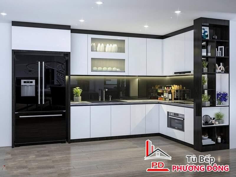 Tủ bếp Cn, Lõi xanh - PD18