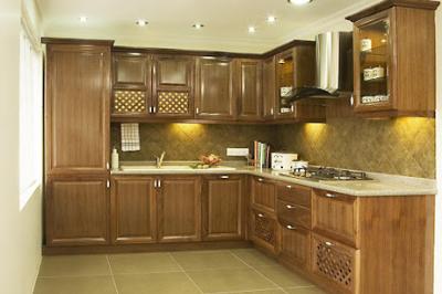 Tủ bếp gỗ Xoan đào - PD62