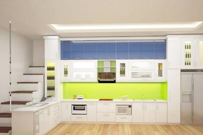 Tủ bếp Melaminate - PD11