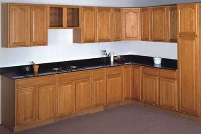 Tủ bếp gỗ Sồi Mỹ - PD09