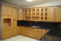 Tủ bếp gỗ Sồi Nga - PD38