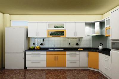 Tủ bếp Laminate - PD12