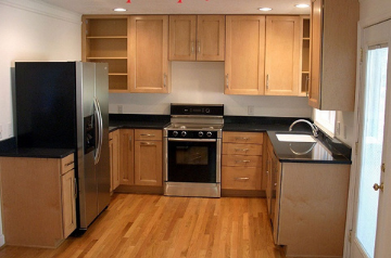 Tủ bếp gỗ Xoan đào - PD17