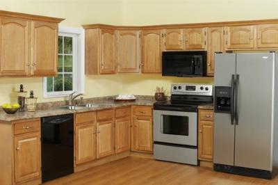 Tủ bếp gỗ Sồi Mỹ - PD11