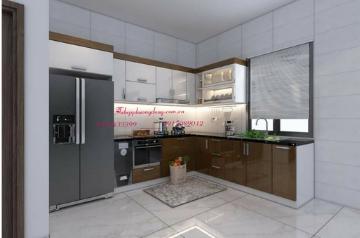 Tủ bếp nhựa Picomat- PD23