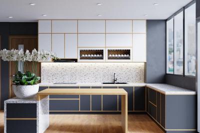 Tủ bếp Laminate - PD17