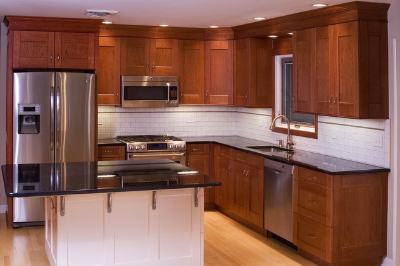 Tủ bếp gỗ dổi - PD13