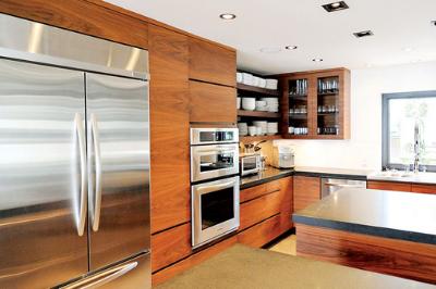 Tủ bếp gỗ Óc chó - PD17