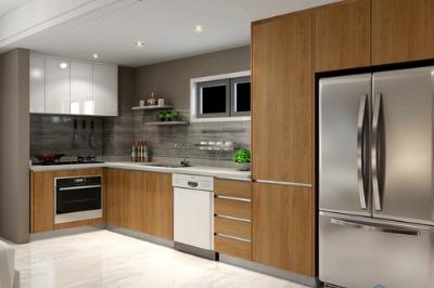 Tủ bếp Laminate - PD16